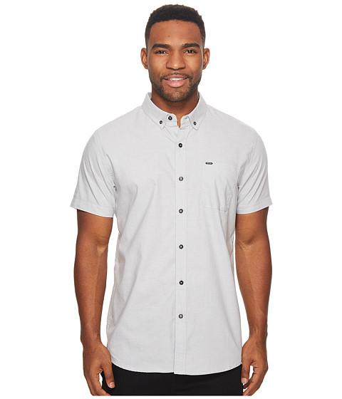 Imbracaminte Barbati Rip Curl Ourtime Short Sleeve Shirt Medium Grey
