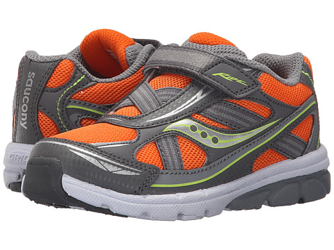 Incaltaminte Baieti Saucony Ride (ToddlerLittle Kid) OrangeGrey