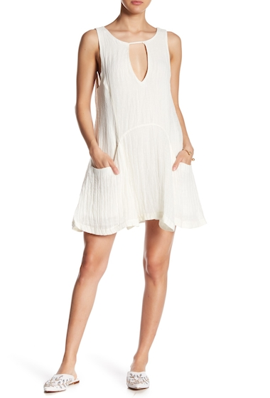 Imbracaminte Femei Free People Sleeveless Front Cutout Dress IVORY