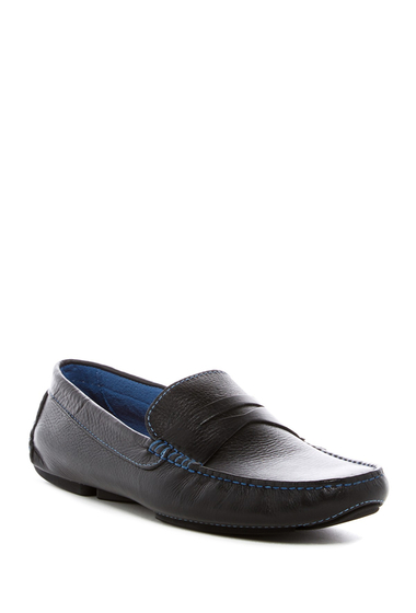 Incaltaminte Barbati Donald Pliner Varran Penny Loafer BLACK