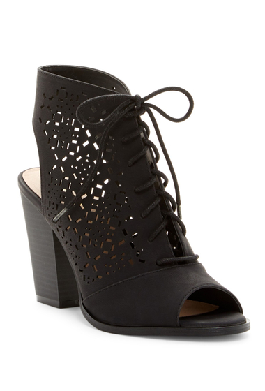 Incaltaminte Femei Restricted Webster High Heel Lace-Up Sandal BLACK