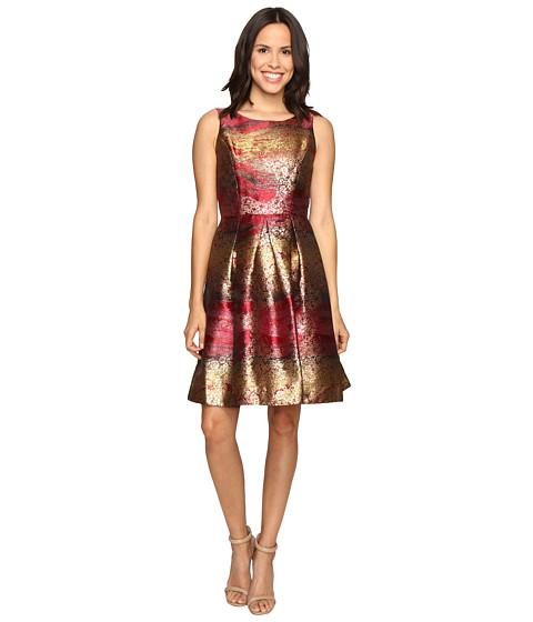 Imbracaminte Femei rsvp Millington Metallic Brocade Dress Red Multi