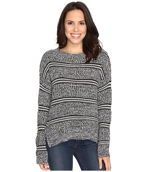 Imbracaminte Femei Brigitte Bailey Marquis Striped Pullover Sweater Black Combo