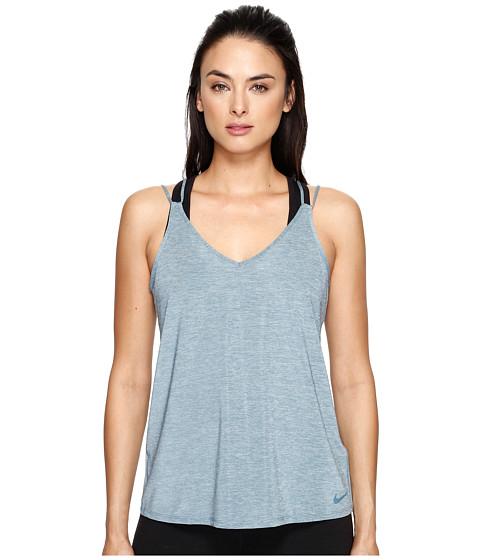 Imbracaminte Femei Nike Dry Strappy Training Tank Smokey BlueHeatherSmokey Blue
