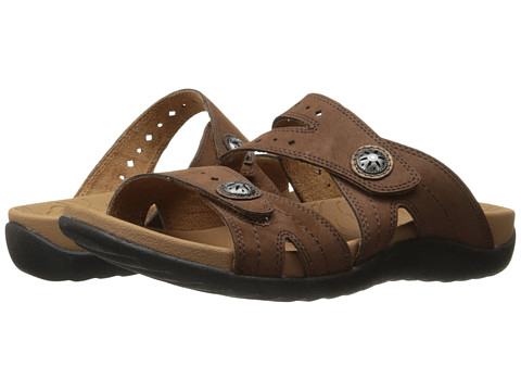 Incaltaminte Femei Rockport Ridge Button Slide Brown