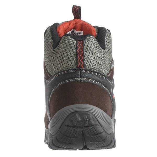 Incaltaminte Barbati Hi-Tec Hi-Tec Sonorous Mid Hiking Boots - Waterproof CHOCOLATERED ROCK (01)
