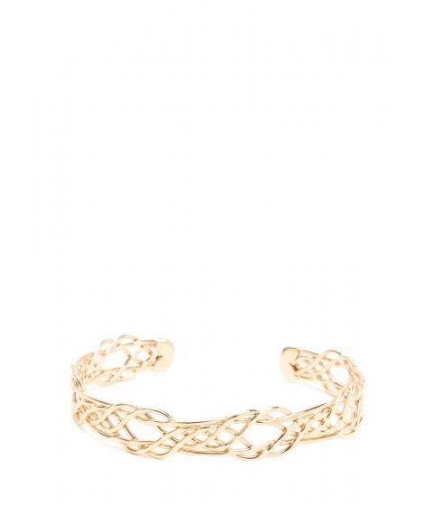 Bijuterii Femei CheapChic Intertwined Lives Wire Cuff Bracelet Gold