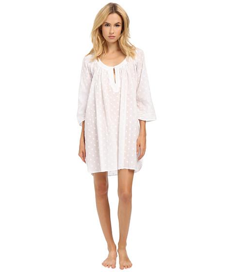 Imbracaminte Femei Oscar de la Renta Spa Short Gown Clip Dot White