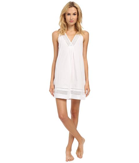 Imbracaminte Femei Oscar de la Renta Spa Pima Cotton Knit Chemise Signature White