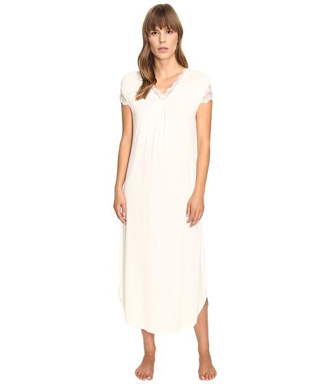 Imbracaminte Femei Oscar de la Renta Solid Luxe Jersey Long Gown Champagne