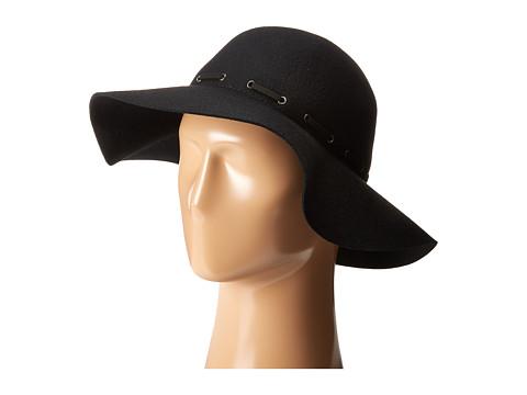 Accesorii Femei Karen Kane Felt Floppy Hat Black