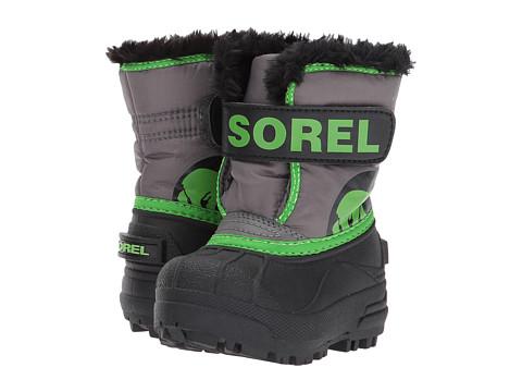 Incaltaminte Baieti SOREL Snow Commander (Toddler) QuarryCyber Green