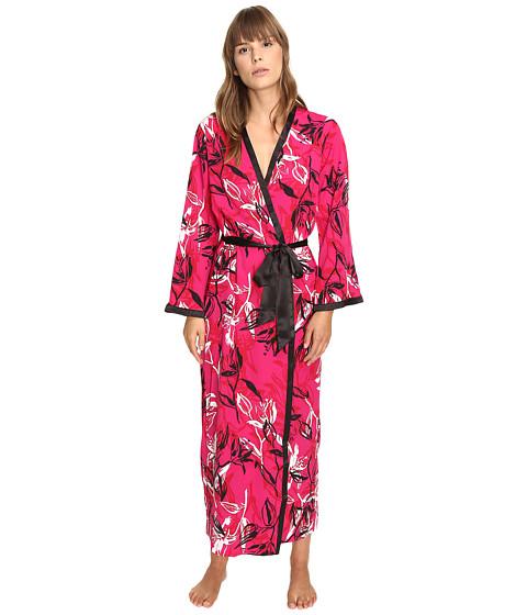 Imbracaminte Femei Oscar de la Renta Printed Poly Crepe Long Robe Berry Print
