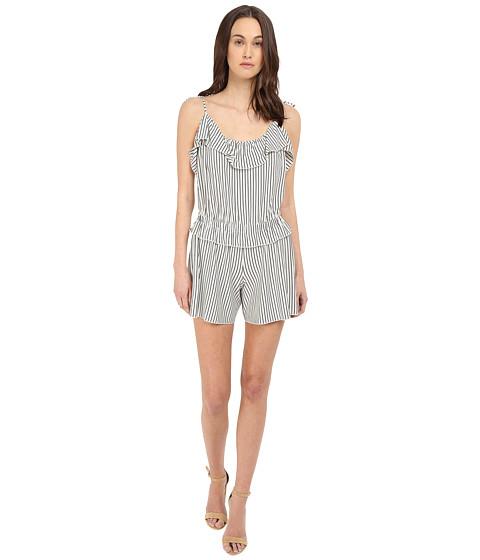 Imbracaminte Femei See by Chloe Striped Jersey Romper Off-White