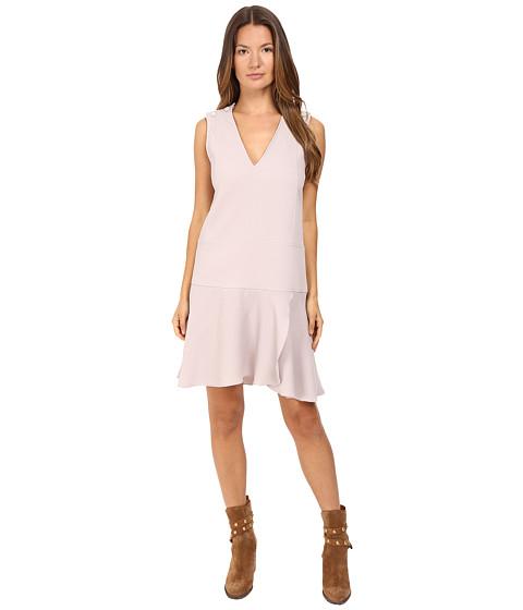 Imbracaminte Femei See by Chloe Crepe Shift Dress Aspen Light Grey