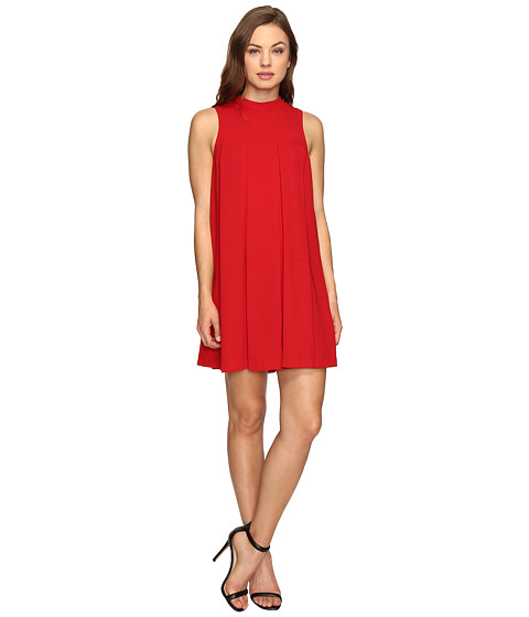 Imbracaminte Femei Brigitte Bailey Kellen Sleeveless Pleated Dress Red