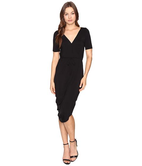 Imbracaminte Femei Culture Phit Laine Cross Front Dress with Waist Tie Black