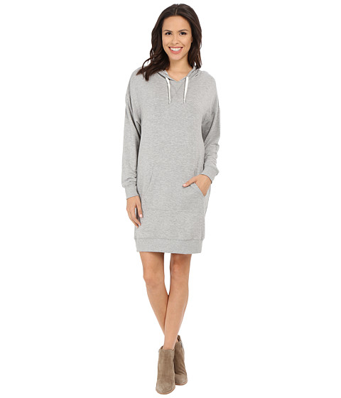 Imbracaminte Femei Culture Phit Eden Luxe French Terry Hoodie Dress Heather Grey