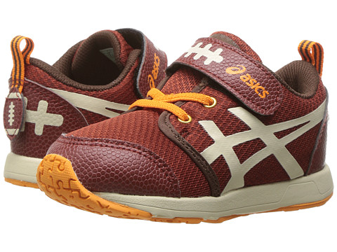 Incaltaminte Baieti ASICS School Yard TS (Toddler) Football BrownCream