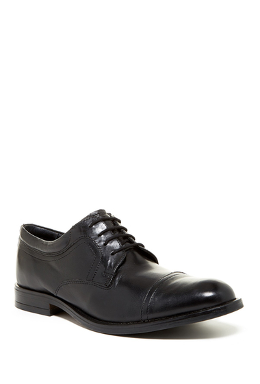 Incaltaminte Barbati Joseph Abboud Major Cap Toe Derby BLACK