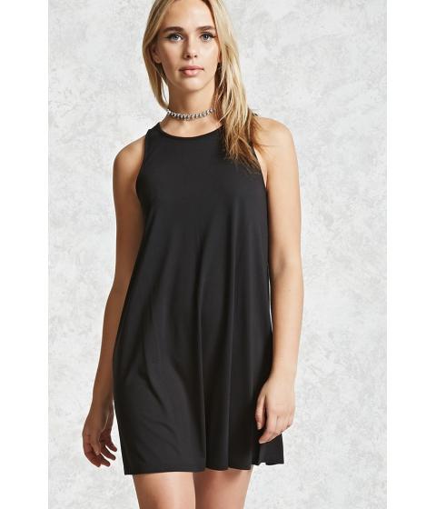 Imbracaminte Femei Forever21 Slub Knit V-Neck Dress Black