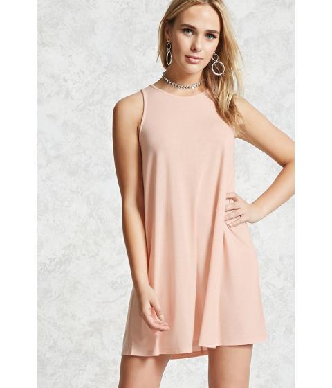 Imbracaminte Femei Forever21 Slub Knit V-Neck Dress Blush