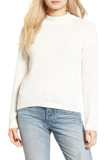 Imbracaminte Femei Cotton Emporium Chenille Pullover IVORY EGRET