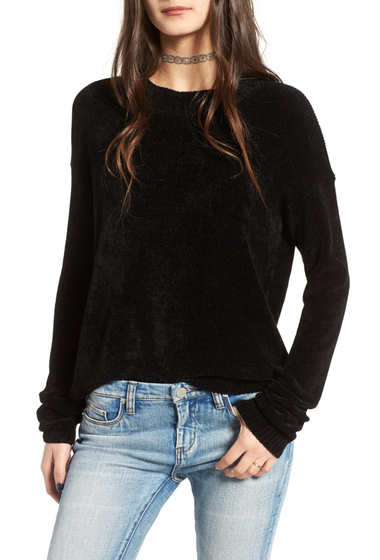 Imbracaminte Femei Cotton Emporium Chenille Pullover BLACK