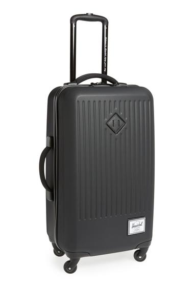 Genti Femei Herschel Supply Co Trade Rolling Hard Shell Suitcase HARDSHELL BLACK