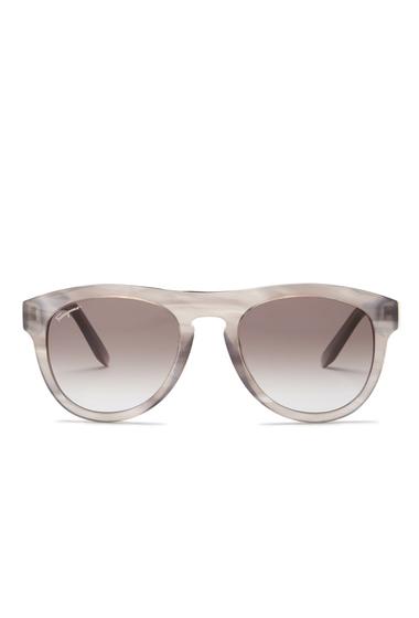 Ochelari Femei Salvatore Ferragamo Womens Retro Acetate Frame Sunglasses STRIPED GREY