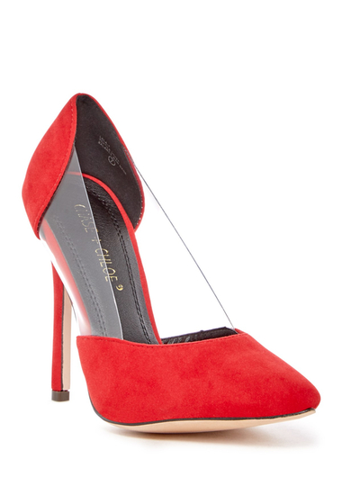 Incaltaminte Femei Chase Chloe Lala Pump RED