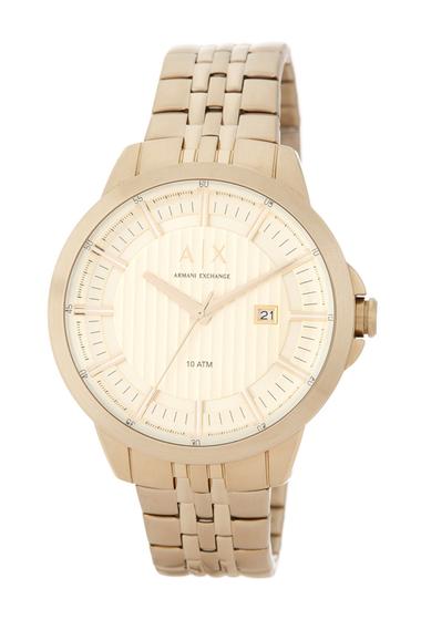 Ceasuri Barbati Armani Exchange Mens Copeland Bracelet Watch NO COLOR