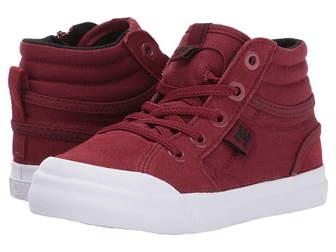 Incaltaminte Baieti DC Evan Hi (Toddler) Deep Red