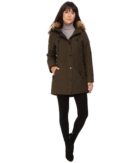 Imbracaminte Femei MICHAEL Michael Kors Down w Fur Trim Hood M822170T Olive