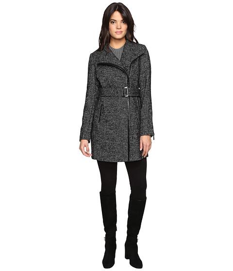 Imbracaminte Femei Michael Kors Asymetric Wool Tweed M222308T BlackWhite