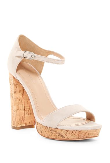 Incaltaminte Femei Pour La Victoire Yvette Platform Ankle Strap Sandal SAND