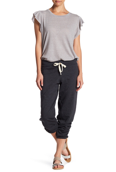 Imbracaminte Femei C C California Kelly Slouchy Drawstring Pants BLACK