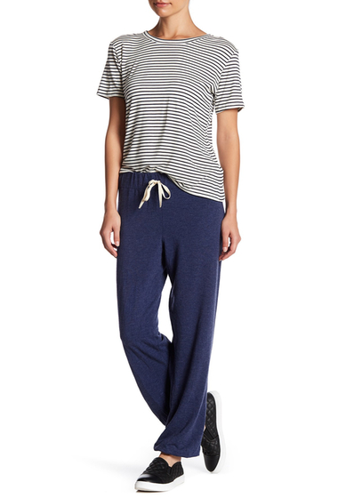 Imbracaminte Femei C C California Kelly Slouchy Drawstring Pants MIDNIGHT SEA