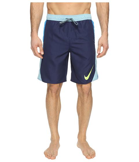 Imbracaminte Barbati Nike Blockforce 9quot Volley Shorts Midnight Navy