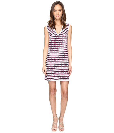 Imbracaminte Femei Missoni Broken Zigzag V-Neck Dress Ink