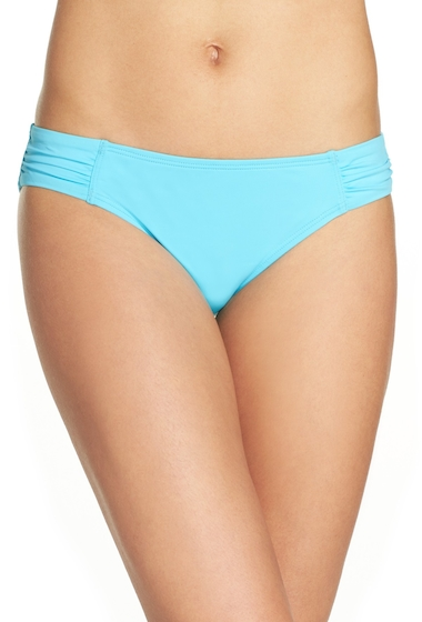 Imbracaminte Femei Tommy Bahama Side Shirred Hipster Bikini Bottoms TRUE TURQU