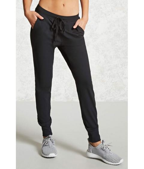 Imbracaminte Femei Forever21 Active Drawstring Pants Black