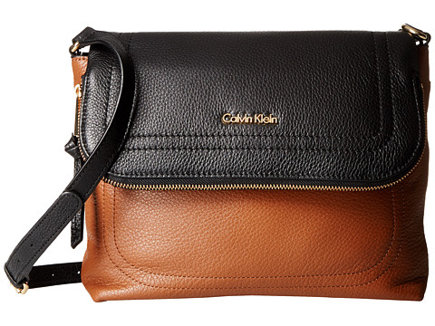 Genti Femei Calvin Klein Classic Pebble Pebble Messenger LuggageBlack