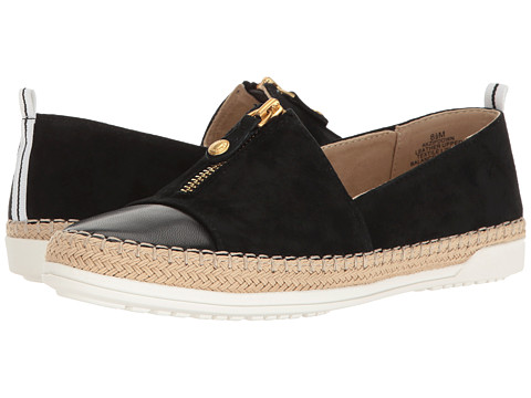 Incaltaminte Femei Anne Klein Zipdown Black Multi Nubuck