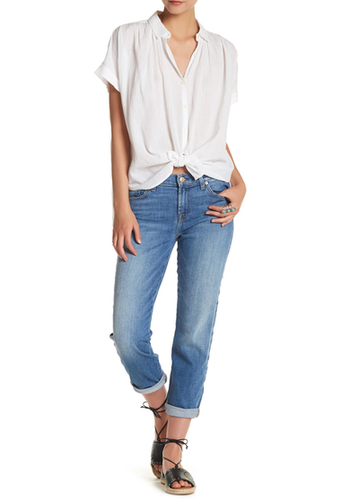 Imbracaminte Femei 7 For All Mankind Roxanne Ankle Original Skinny Jeans ADELAIDEBL