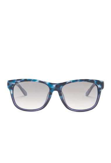 Ochelari Femei Gucci Womens Retro Sunglasses HAVANA BLUE