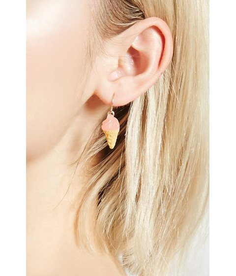 Bijuterii Femei Forever21 Ice Cream Drop Earrings Pinkyellow