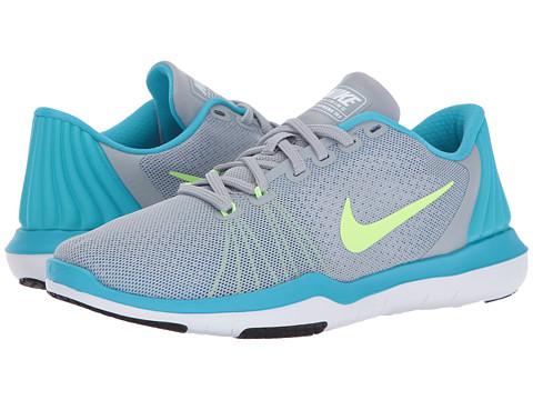 Incaltaminte Femei Nike Flex Supreme TR 5 Wolf GreyGhost GreenChlorine Blue