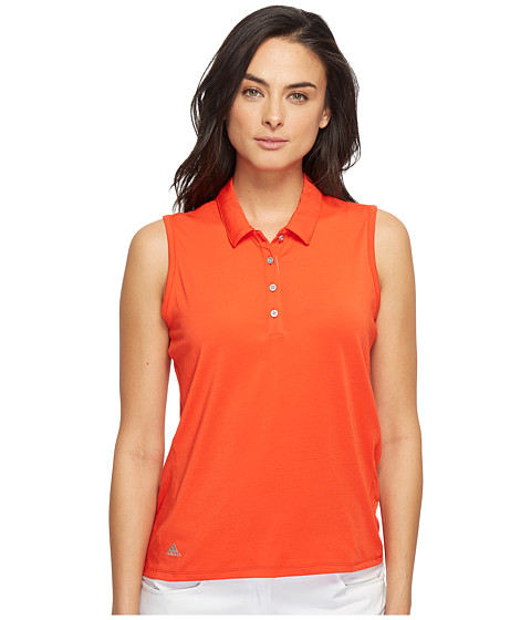 Imbracaminte Femei adidas Golf Essentials Sleeveless Polo Core Red