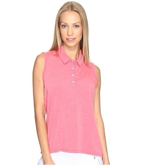 Imbracaminte Femei adidas Golf Essentials Sleeveless Polo Core Pink Heather